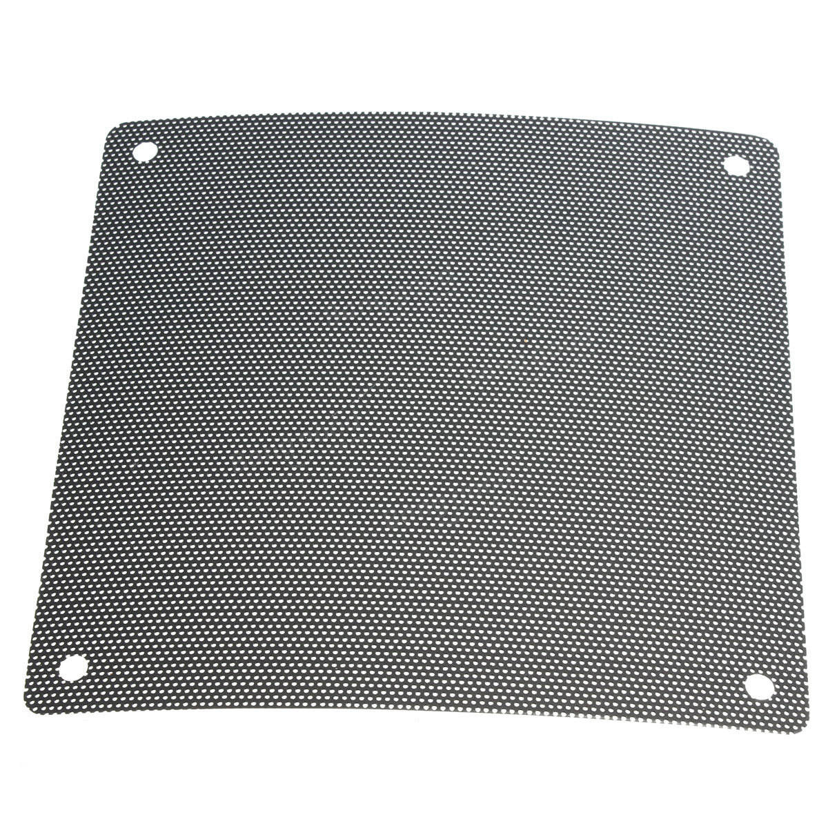 Cuttable Black PVC PC Fan Dust Filter Dustproof Case Computer Mesh 120mm