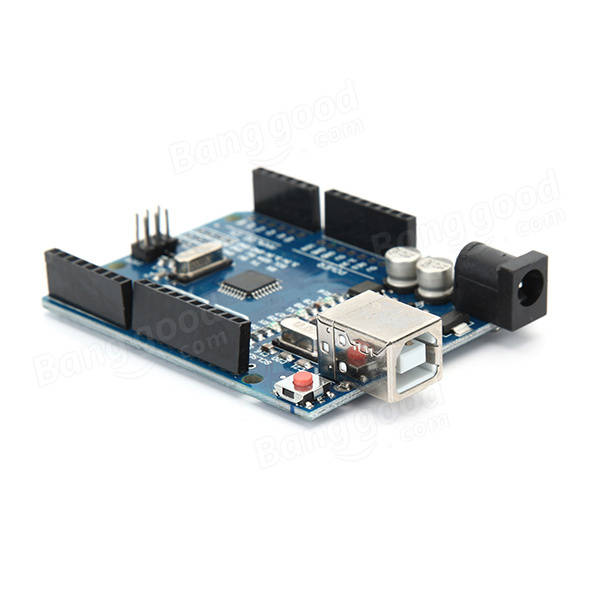 Geekcreit® UNO R3 For Arduino No USB Cable With ESP8266 WiFi Expansion Board ESP-13 Shield