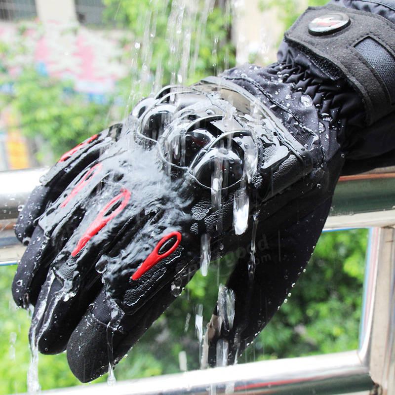 プロバイカーMTV08用冬用防水バイクレーシンググローブ