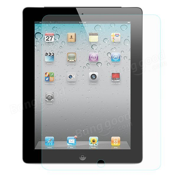Hat Prince 0.33mm 2.5D Premium Tempered Arc Edge Tempered Glass Screen Protector For iPad 4/3/2