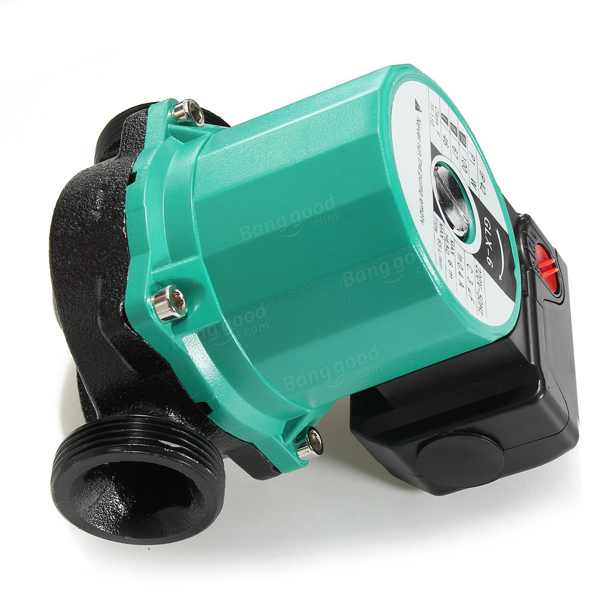 New 3 Speed 220V 100W Central Heating Circulator Pump Hot Water ...