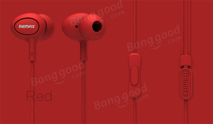 REMAX 515 Earphone Red