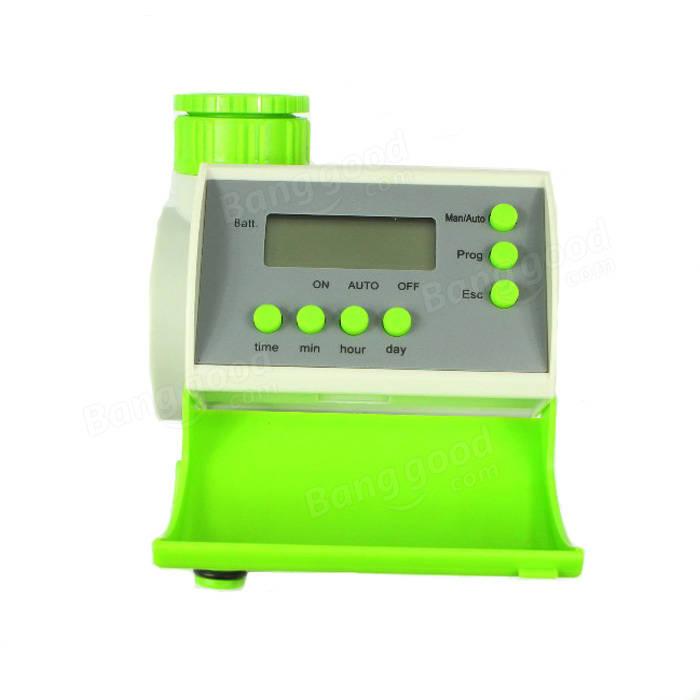 Giardinaggio lcd automatico timer irrigazione intelligente for Timer x irrigazione