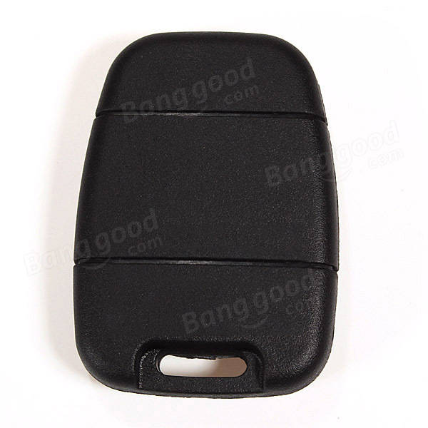 2 Buttons Black Remote Key Shell Case for Land Rover Discovery