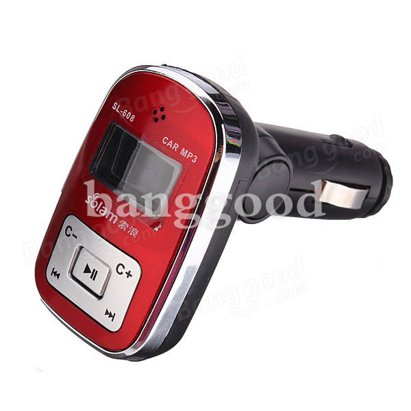 Car FM Transmitter MP3 Media Player SL-608 2GB with Remote Controller