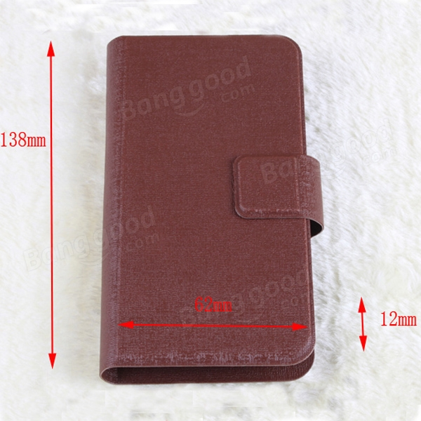 Universal Suckers PU Leather Protective Case For Mobile Phone