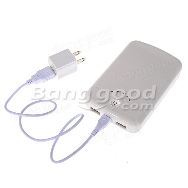携帯電話用外部電源バンク12000mAhデュアルUSB充電器