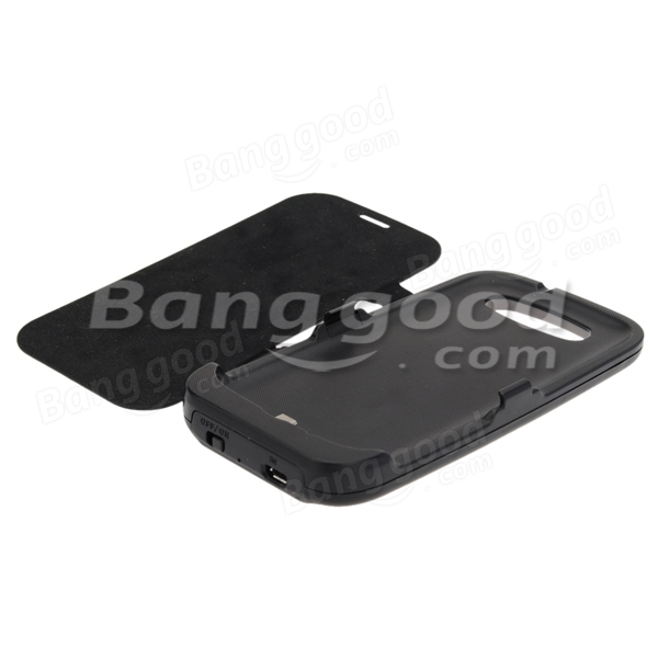 3500mAh Battery Charger Leather Case for Samsung Galaxy S3 I9300