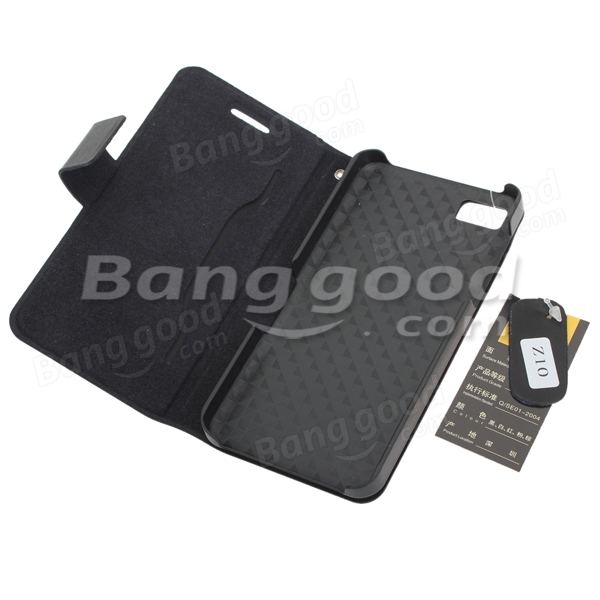 Rollover Leather Protective Case Cover For Blackberry Z10