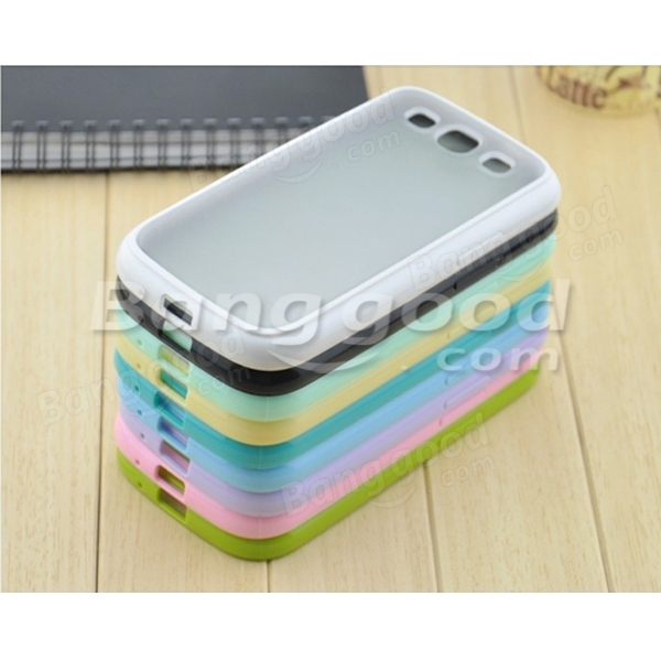 Soft Hard Two Colors Protective Case For Samsung i9500