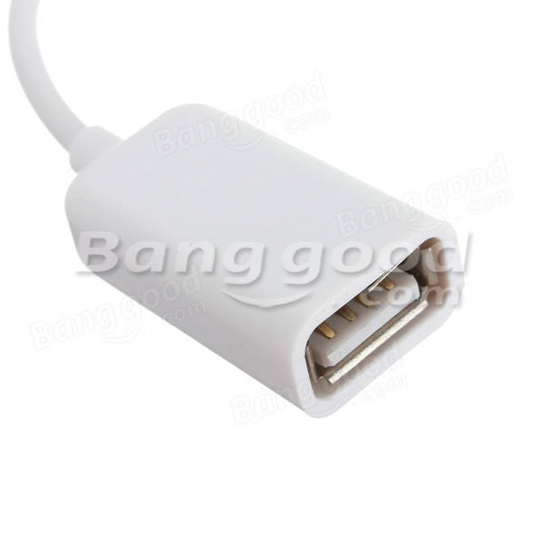 USB Micro OTG Adapter Cable For Cellphones With Micro Port