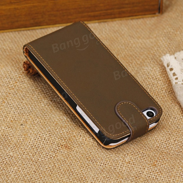 Retro Wallet Style Card Holder Leather Case For iPhone 5C