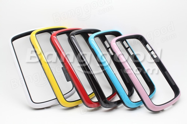 Dual Color PC TPU Bumper Frame Protective Case For Blackberry Q10