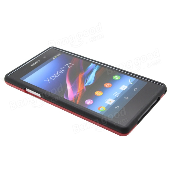 TPU+PC Protective Back Case For SONY L39h Xperia Z1