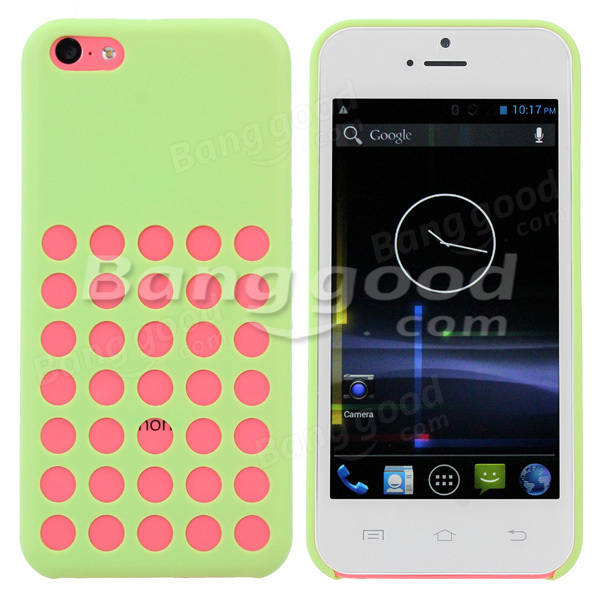 Colorful Protective Hard Back Case For Xiaocai X800