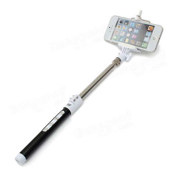 dispho bluetooth remote monopod tripod selfie stick for smart phone sale sold out. Black Bedroom Furniture Sets. Home Design Ideas
