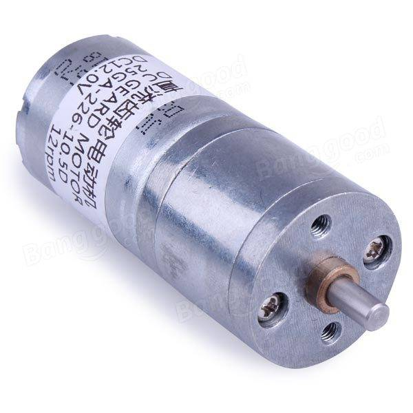 Electric Motor 12v Dc Geared Motor High Torque Gear