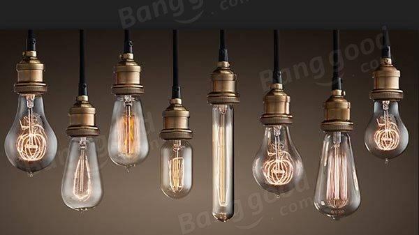 B22 ST64 110V/220V 40W Vintage Edison Style Filament Incandescent ...
