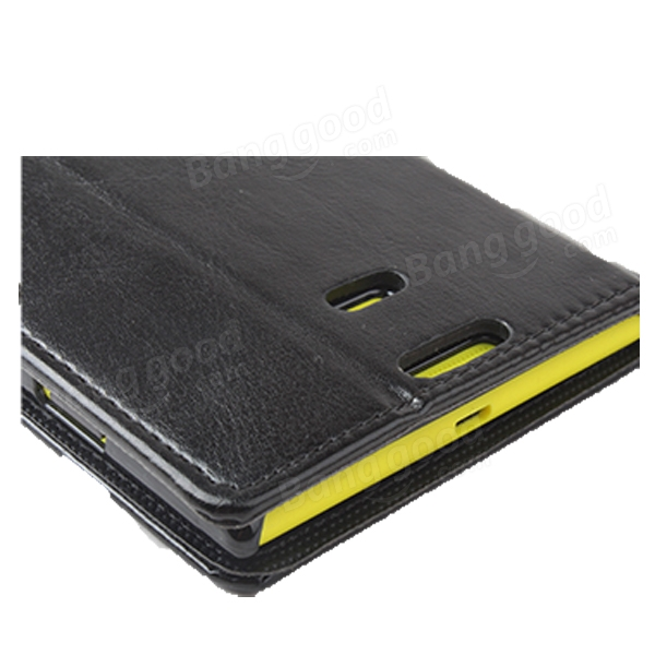 Magnetic Flip-open PU Leather Protective Case For Nokia Lumia 1520