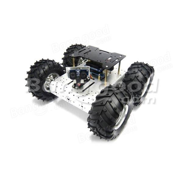 4wd wifi cross country robot kit hors route de voiture intelligente pour arduino. Black Bedroom Furniture Sets. Home Design Ideas