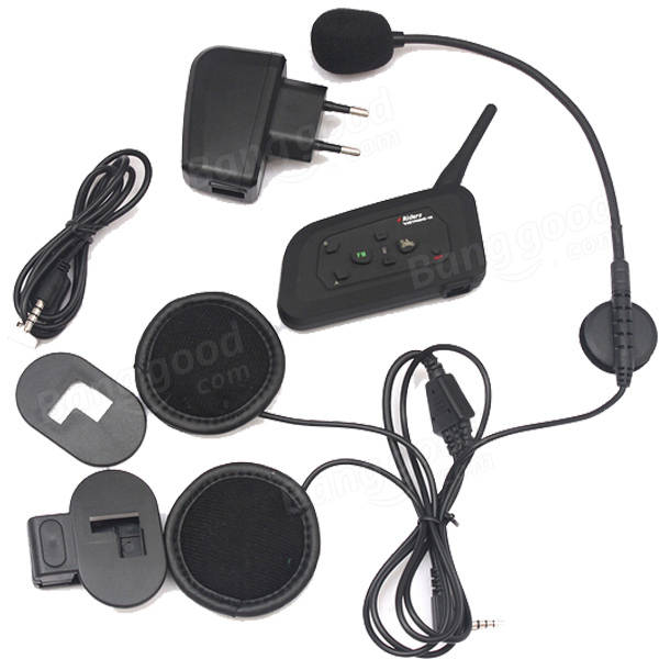 V4-1200 Motorcycle 1200M Helmet with Bluetooth Function Interphone