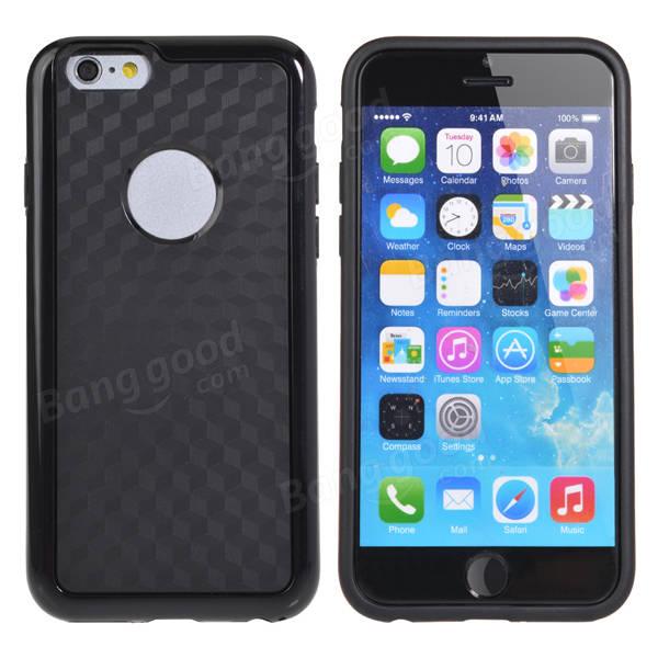 iPhone 6のロゴホールホーネットケース付きダブルカラー