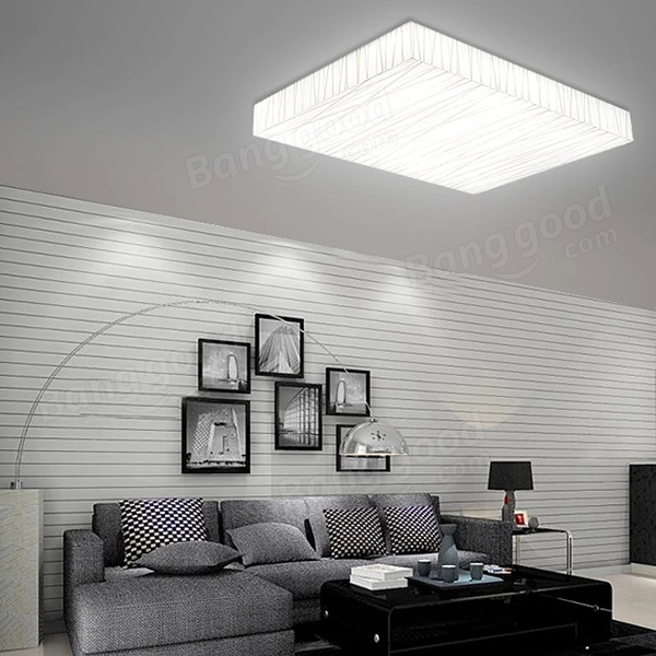12w modern square led ceiling light living dining room bedroom lamp