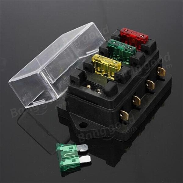 SKU136263 (5) car 12v 24v 4 way circuit atc ato standard blade fuse box holder 4 way fuse box at crackthecode.co