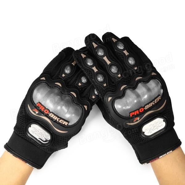 Full Finger Safety Bike Motorcycle Racing Gloves for Pro-biker MCS-02