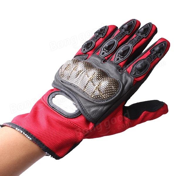 Full Finger Safety Bike Motorcycle Racing Gloves for Pro-biker MCS-14