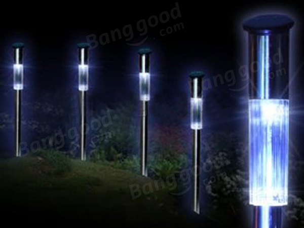 Solar Power Oblique Torch Lawn LED Lamp Garden Decoration Lights - US$10.35 sold out