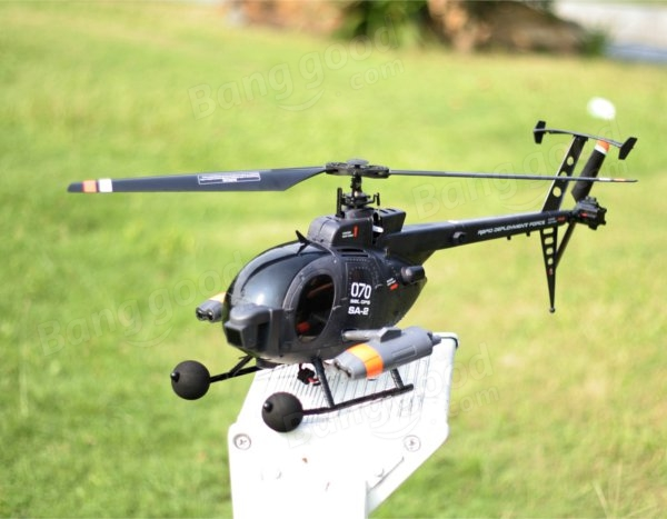 Elicottero 500 Rc : Fx c g ch axis gyro flybarless md scale rc