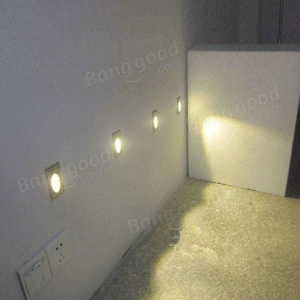 Wall Corner Lamps : 1W Square Aluminum LED Corner Wall Light Impaction Night Lamp Sale - Banggood.com sold out