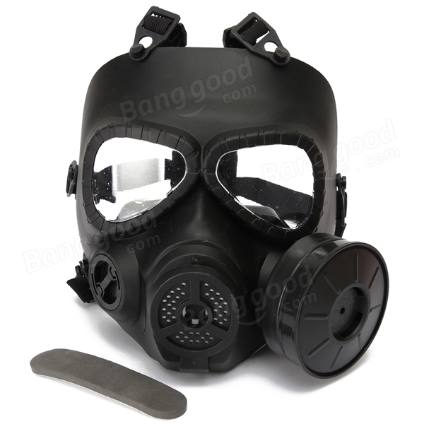 Tactical M04 Toxic Gas Mask Activated Carbon Military