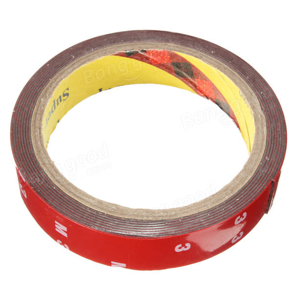 3M Auto Acrylic Foam Double Sided Attachment Adhesive Tape 20mm