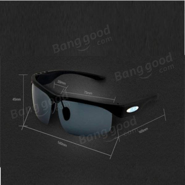 Smart Glasses Headset Microphone Sunglasses with Bluetooth Function