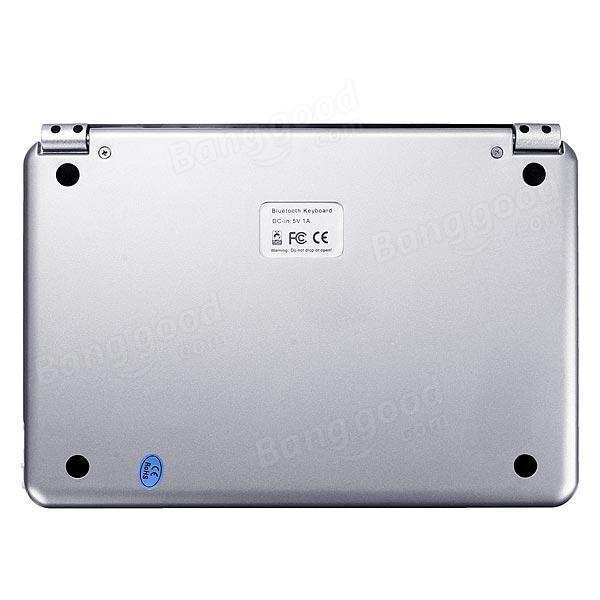 Slim Aluminum Wireless Bluetooth Keyboard Case Cover For iPad Mini3