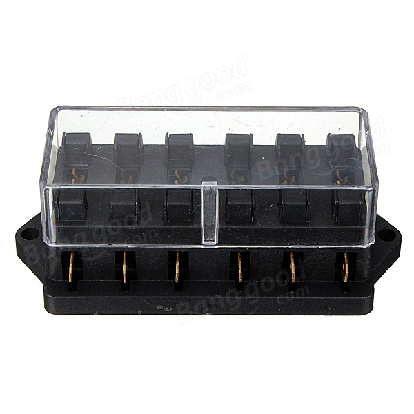6Way Universal Standard 12V ATC Blade Fuse Box/Cover Classic Car