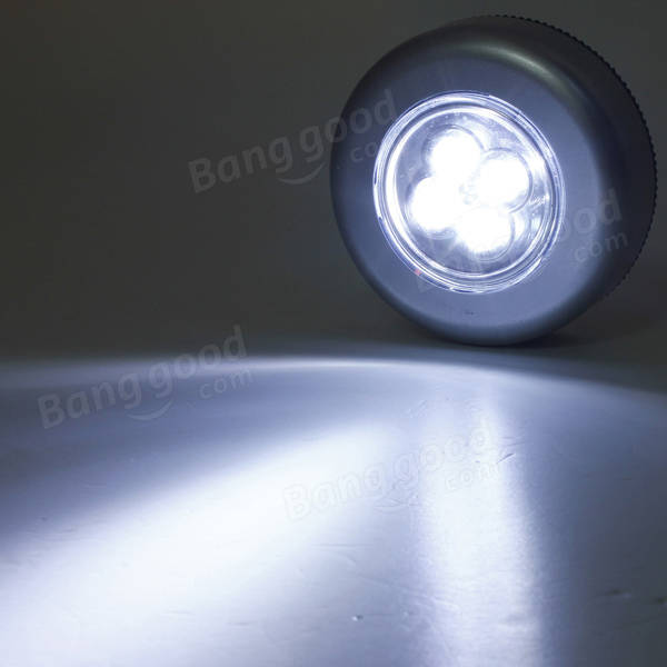 Car Caravan Luggage Boot Home Interior 4LED Roof Ceiling Dome Lamp