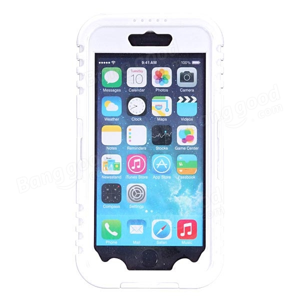 Waterproof Shockproof Dirtproof Clear Case For iPhone 6/6s Plus