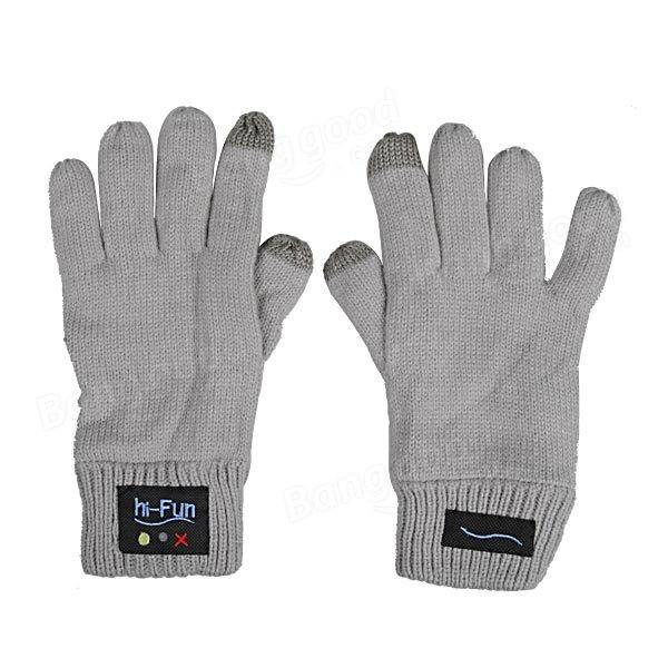 Bluetooth Gloves Unisex Touch Screen Magic Gloves Speaker For iPhone Samsung Xiaomi