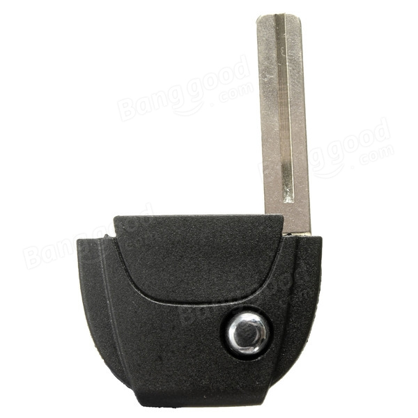 Remote Case Flip Key Head Part with Uncut Blank For Volvo S60 S80 V70