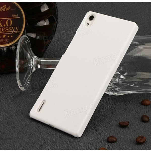 Huawei Ascend P7用MOSKIIブランド超薄型PCシールドケースカバー