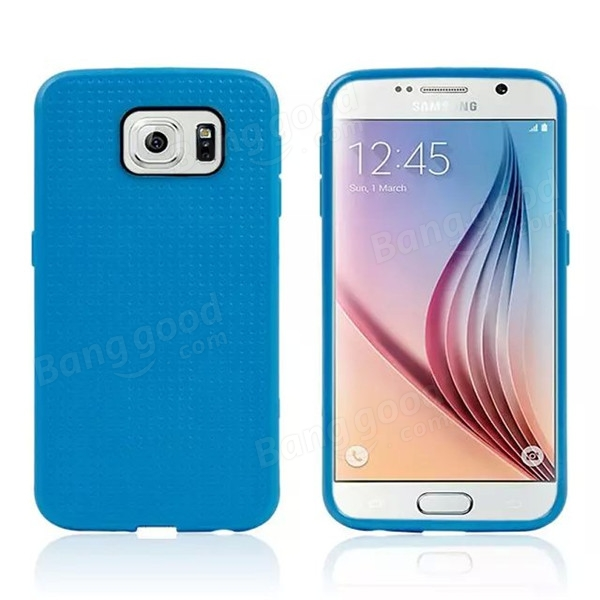 Honeycomb Pattern Soft TPU Case Cover For Samsung Galaxy S6