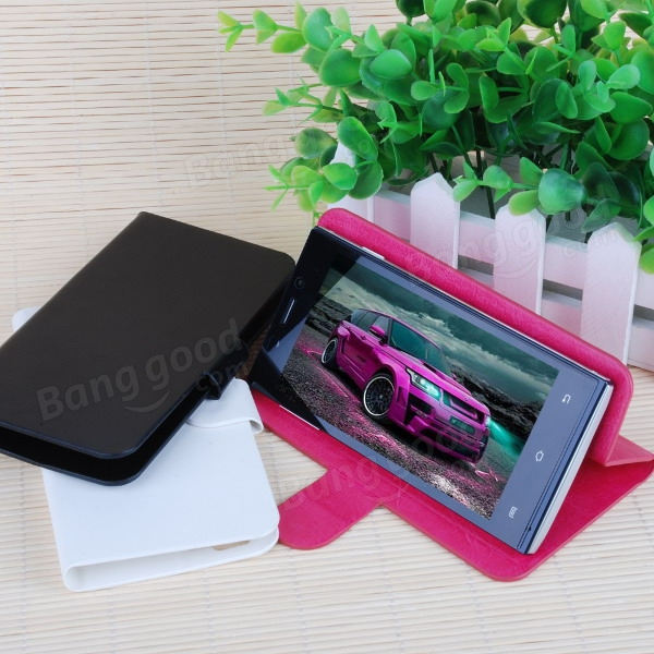 Flip Leather Magnetic Protective Case For DOOGEE TURBO Mini F1