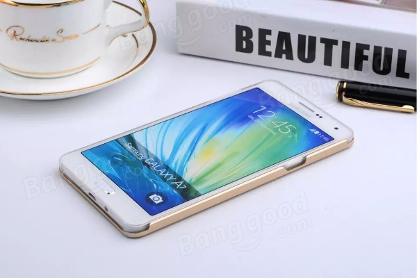 2 in 1 Soft PP Case and Aluminum PC Hard Case For Samsung Galaxy A7