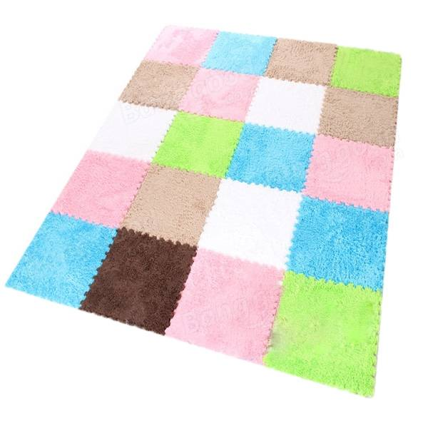 Foam Fur Puzzle Mats Child Floor Carpet Rug Soft Eva