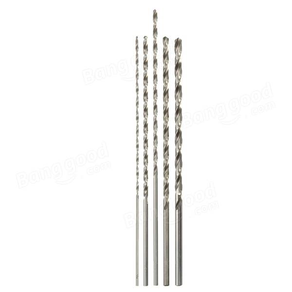 2mm To 5mm Diameter Extra Long HSS Auger Twist Drill Bit Straigth Shank 160mm