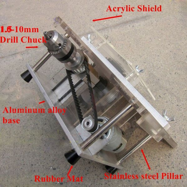 DIY Mini Bench Table Saw Handmade Woodworking Model Saw ...