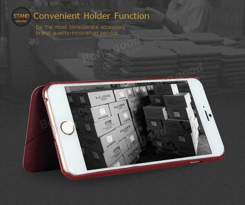 Original KLD OSCAR II Series Protection Cover PU Leather Phone Case For iPhone 6